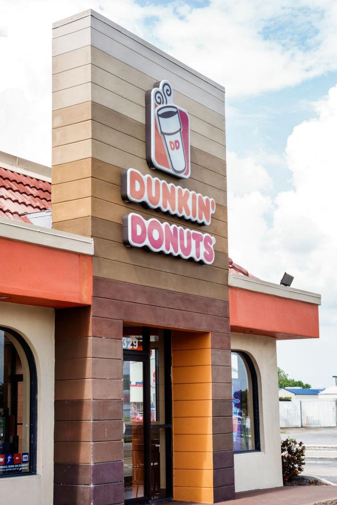 Florida, Arcadia, Dunkin Donuts, coffee shop exterior